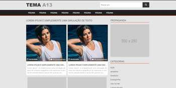Tema wordpress adulto responsivo - A13